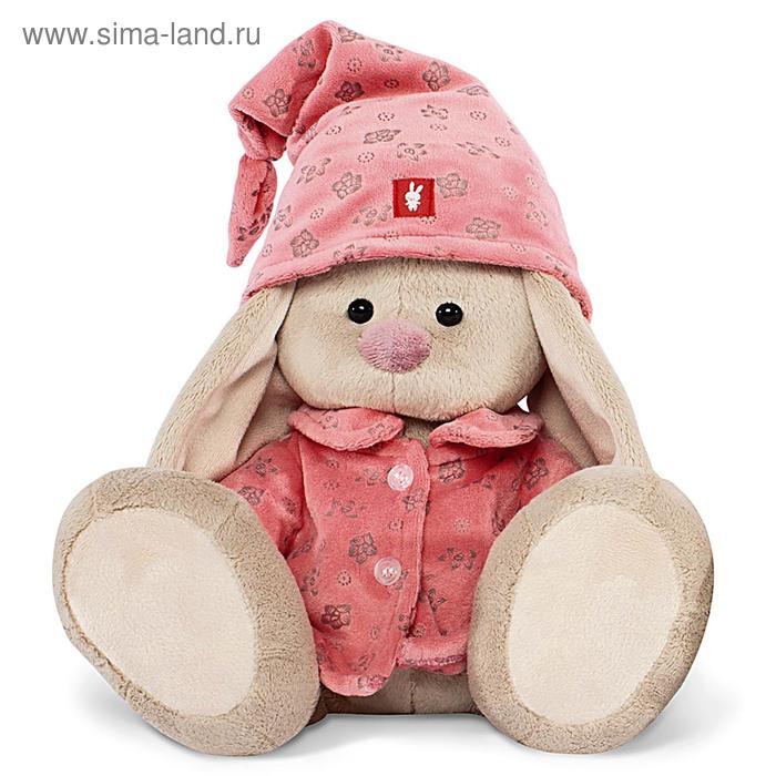 Мягкая игрушка «Зайка Ми» в розовой пижаме, малая