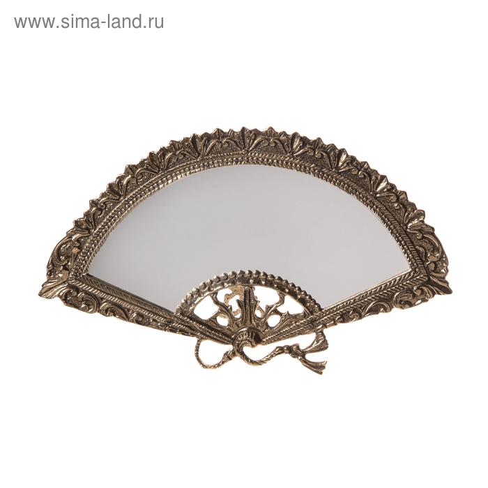 """Зеркало настольное на подставке """"Веер"""""""