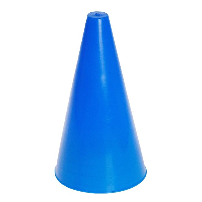 Конус для разметки полей и трасс 24 см синий гп14623