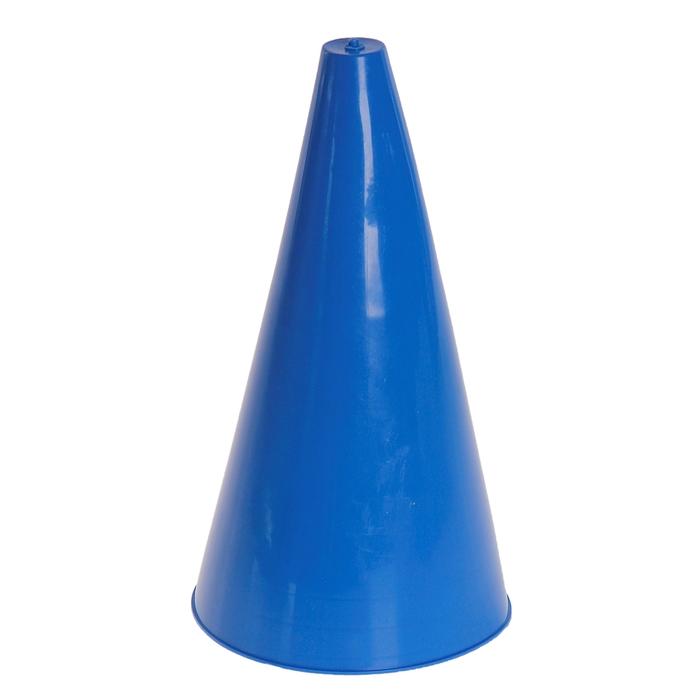 Конус для разметки полей и трасс, h=20 см, цвет синий