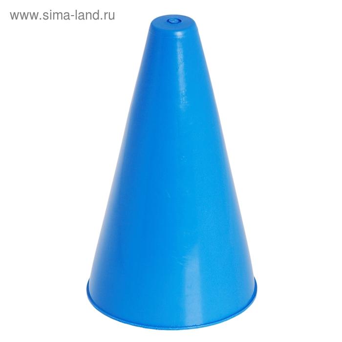 Конус для разметки полей и трасс, h=16 см, цвет синий