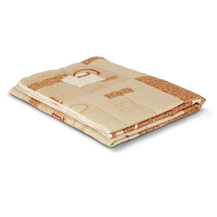 """Одеяло летнее Мио-Текс """"Овечья шерсть"""", размер 140х205 ± 5 см, 100 гр/м2"""