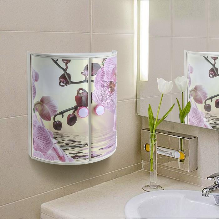 """Шкафчик для ванной комнаты """"Орхидея"""""""