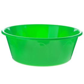 Таз пластиковый 20 л, 'Колор', цвет МИКС Ош