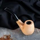 """Трубка курительная """"Бент"""", под фильтр 9 мм, светлая"""