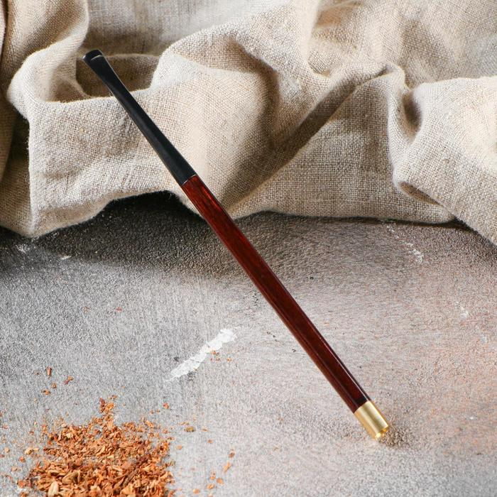 Мундштук гладкий, длинный, для тонких сигарет