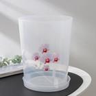 Горшок для орхидеи 3,5 л, прозрачный