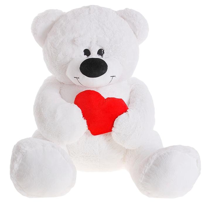 Для вали, картинка плюшевый мишка с сердечком