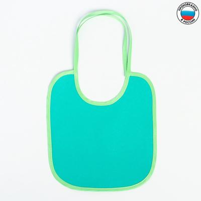 Bib oilcloth with PVC coating, with ties, color MIX