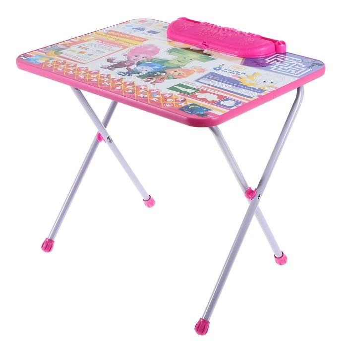 """Набор детской мебели """"Фиксики. Знайка"""" складной, цвет розовый"""