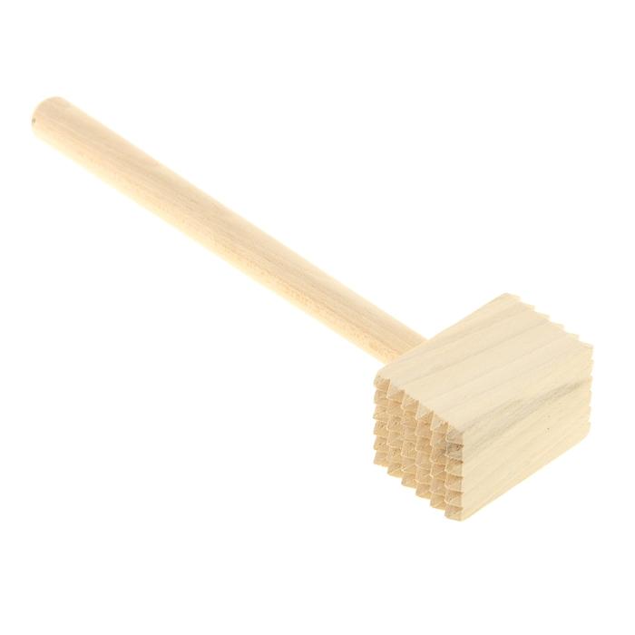 """Молоток деревянный """"Квадрат"""", 28 см"""