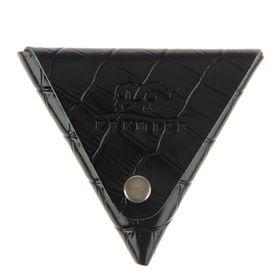 Футляр для монет на кнопке, цвет чёрный в Донецке