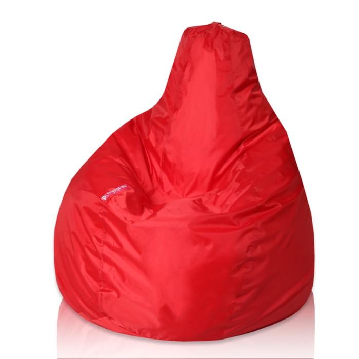 """Кресло-мешок """"Капля"""", М, d100/h140, цвет красный"""