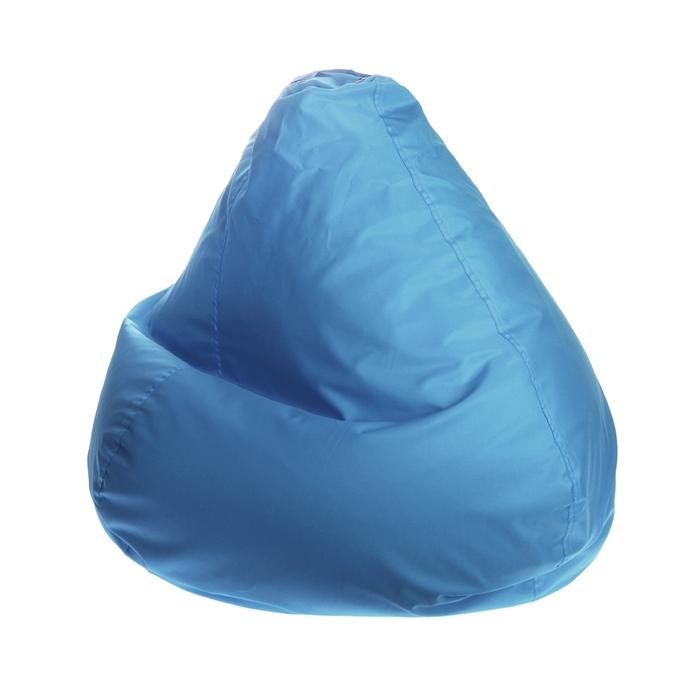 """Кресло-мешок """"Малыш"""", d70/h80, цвет светло-голубой"""