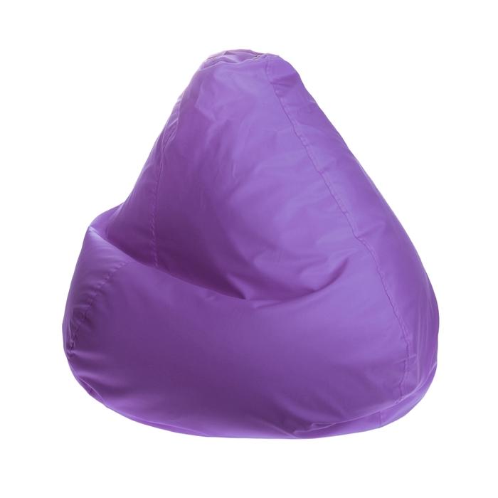 """Кресло-мешок """"Малыш"""", d70/h80, цвет лиловый"""