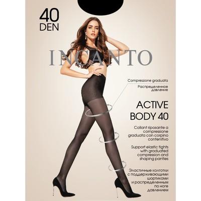 Колготки женские INCANTO, цвет nero (чёрный), размер 2 (арт. Active Body 40)