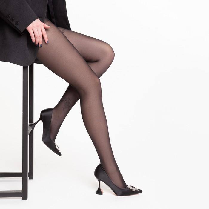 Колготки женские INCANTO Cosmo 40 (nero, 5)