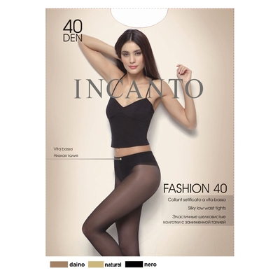Колготки женские INCANTO Fashion 40 (naturel, 3)
