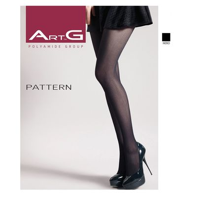 Колготки женские ARTG PATTERN 70 (1) (nero, 2)