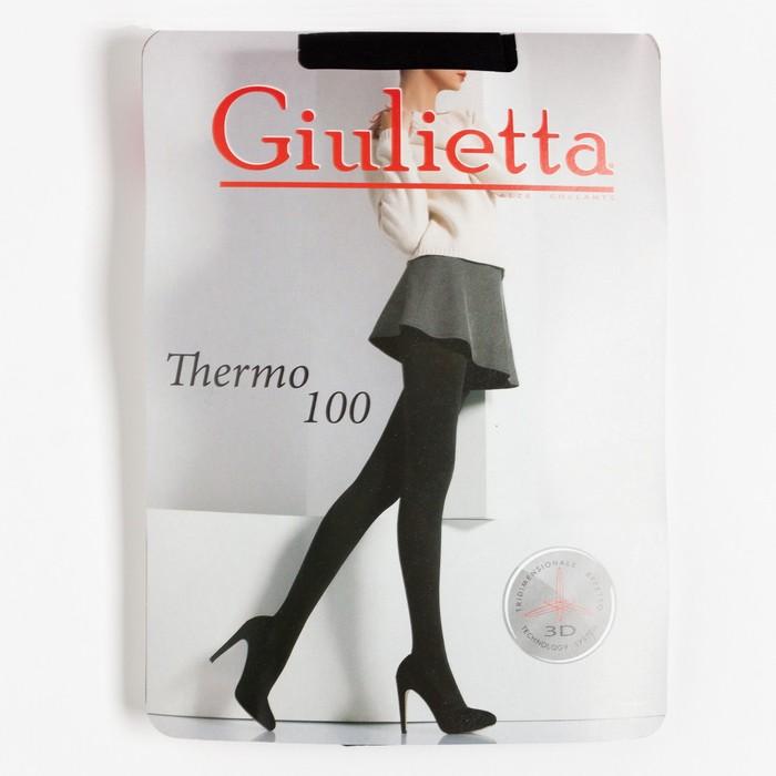 Колготки женские Giulietta THERMO 100 (nero, 3)