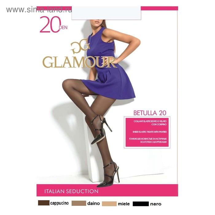 Колготки женские GLAMOUR Betulla 20 (nero, 5)