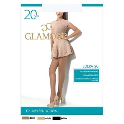 Колготки женские GLAMOUR Edera 20 (nero, 5)