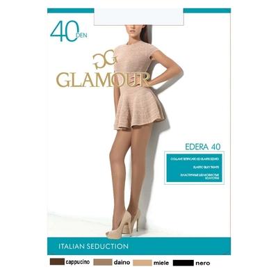 Колготки женские GLAMOUR Edera 40 (nero, 5)