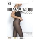 Колготки женские MALEMI, цвет nero (чёрный), размер 2 (арт. Bravo 20)