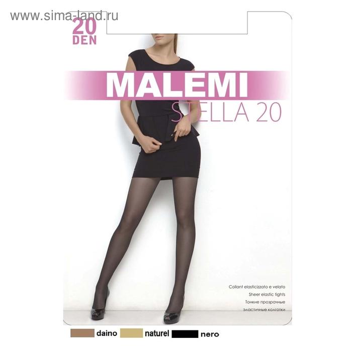 Колготки женские MALEMI Stella 20 (nero, 4)