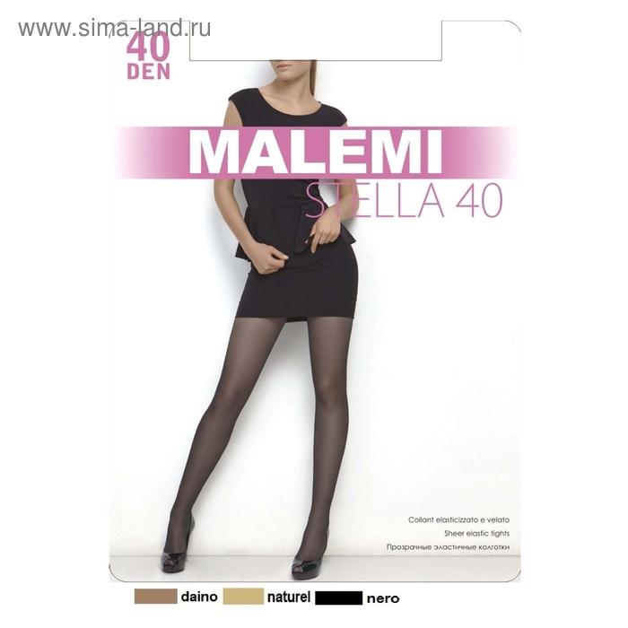 Колготки женские MALEMI Stella 40 (nero, 4)