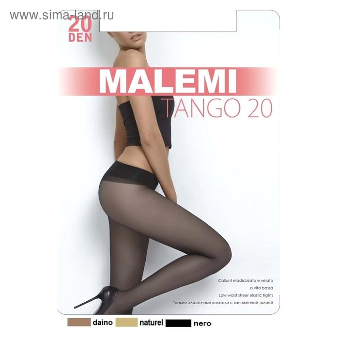 Колготки женские MALEMI, цвет nero (чёрный), размер 3 (арт. Tango 20)