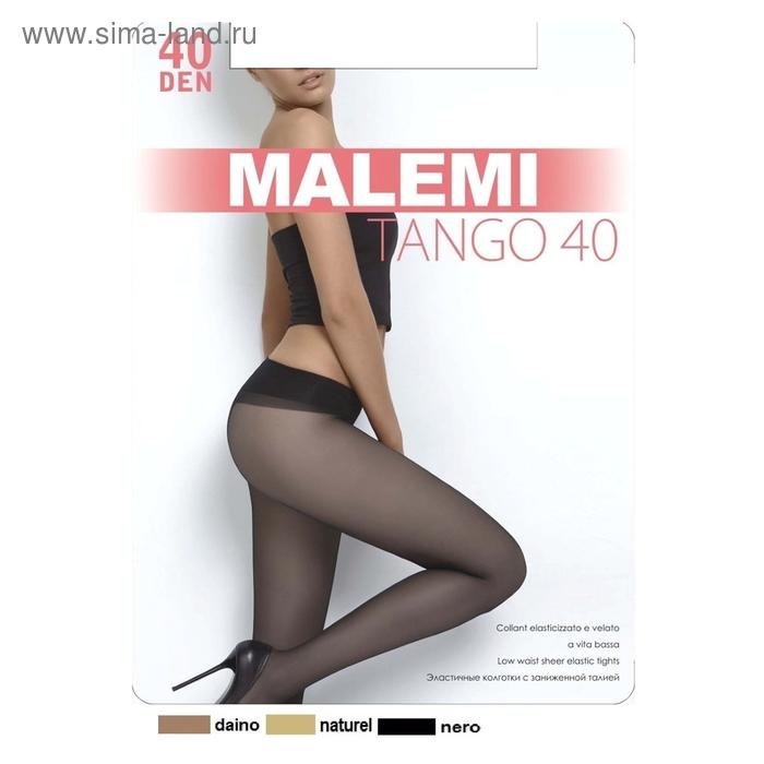 Колготки женские MALEMI Tango 40 (naturelle, 4)
