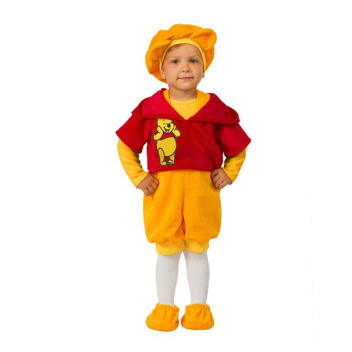 Карнавальный костюм «Винни», плюш, размер 26, рост 104 см