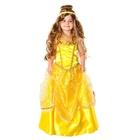Карнавальный костюм «Принцесса Белль», текстиль, размер 30, рост 116 см