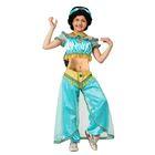 Карнавальный костюм «Принцесса Жасмин», текстиль, р. 34, рост 134 см