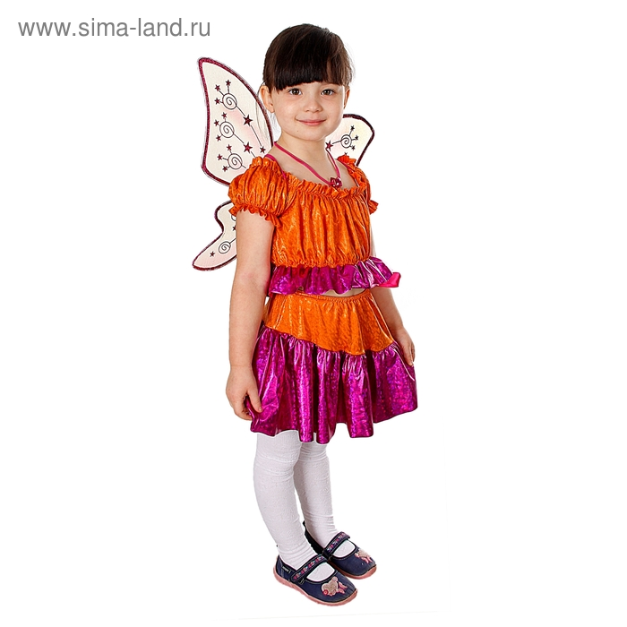 """Карнавальный костюм """"Стелла"""", рост 116 см"""