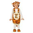 Детский карнавальный костюм «Тигруля», плюш, размер 26, рост 104 см