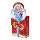 """Подарочная коробка """"Дедушка Мороз"""" большая, сборная, 14,5 х 6.5 х 19,5 см"""
