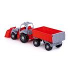 Трактор с прицепом №1 и ковшом «Силач», МИКС - фото 105650176