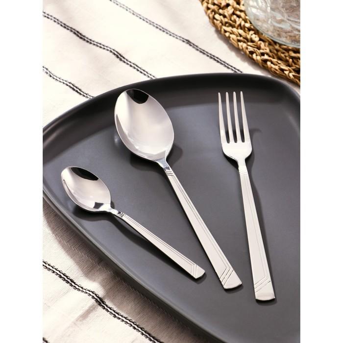 """Набор столовых приборов """"Аппетит"""", 18 предметов, толщина 2 мм"""