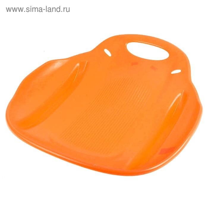 """Ледянка """"Метеор"""", цвет оранжевый"""