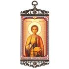 """Икона-хоругвия """"Великомученик и целитель Пантелеимон"""" на подвесе"""