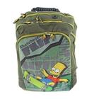 Рюкзак школьно-подростковый The Simpsons, 1 отдел на молнии, передний карман, верхний карман, уплотненные лямки