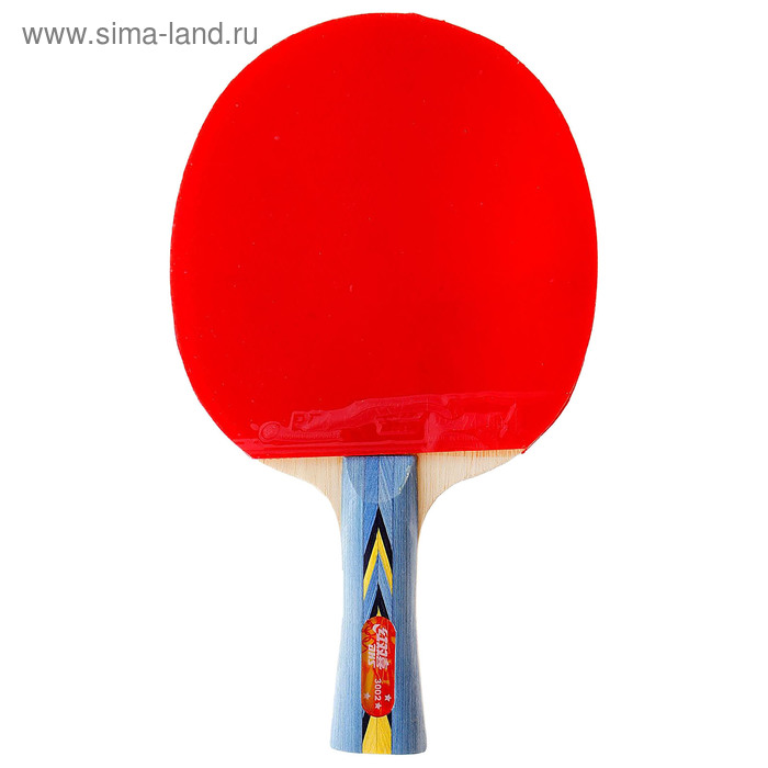 Ракетка для настольного тенниса DHS A3002, для тренировок, накладка 2,2 мм, коническая ручка