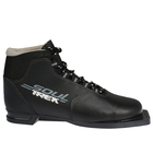 Ботинки лыжные ТРЕК Soul НК NN75 (чёрный, лого серый), размер 42