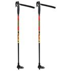 Палки лыжные стеклопластиковые детские (65 см), цвет микс