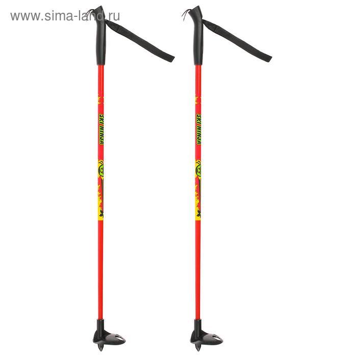 Палки лыжные стеклопластиковые TREK Classic (70 см), цвета микс