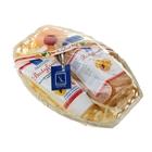Подарочный набор Соль для ванн Абрикос + Душ-пилинг массирующий Абрикос + Скраб-мыло на солевой осно
