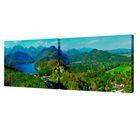 """Модульная картина на холсте с подрамником """"Чудесные горы"""""""
