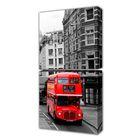 """Модульная картина на холсте с подрамником """"Лондонский автобус"""""""